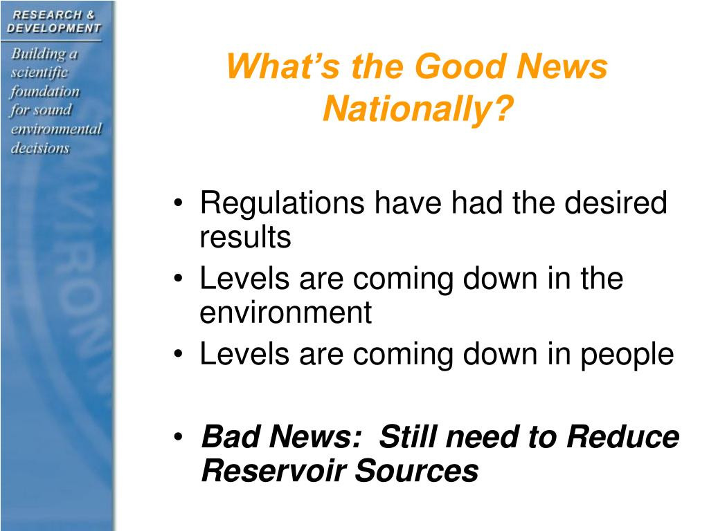 What's the Good News Nationally?