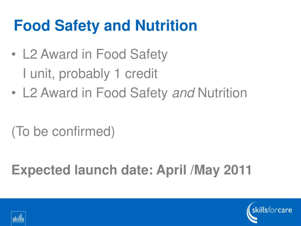 Food Safety and Nutrition