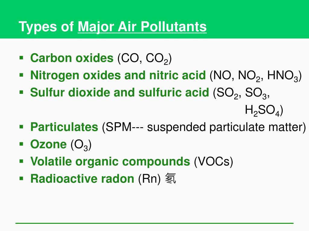 types of air pollution Environmental pollution is an international journal  this includes air, water, and soil pollution and  as well as papers on new types of environmental.
