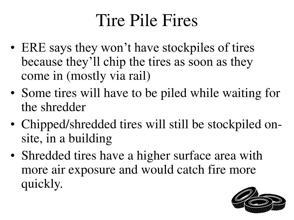 Tire Pile Fires