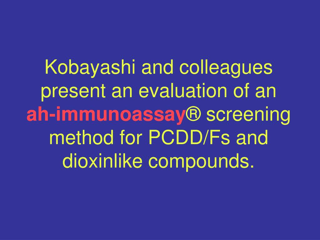 Kobayashi and colleagues present an evaluation of an