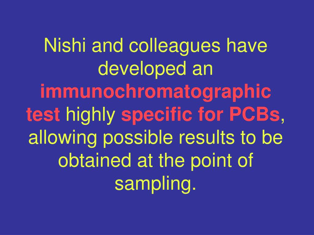 Nishi and colleagues have developed an