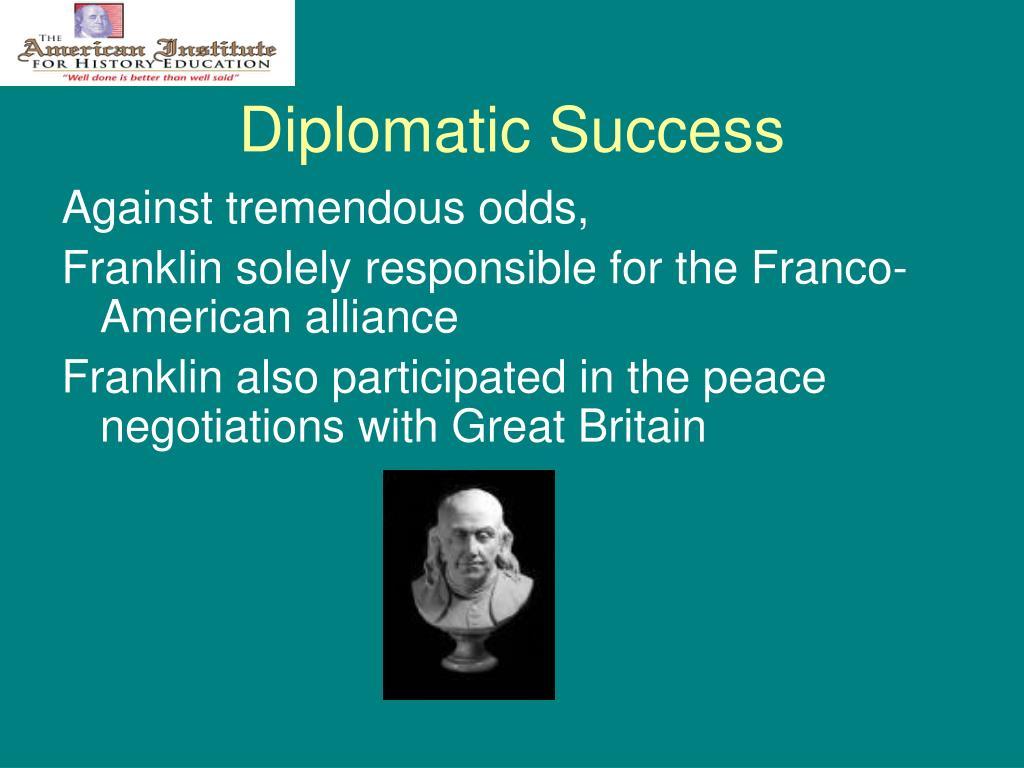 Diplomatic Success