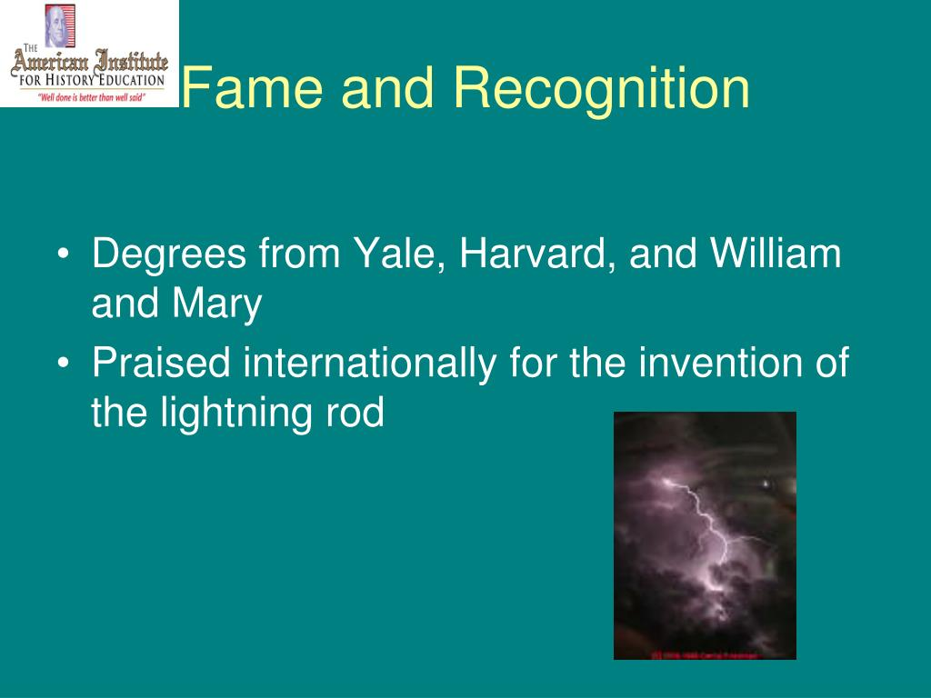 Fame and Recognition