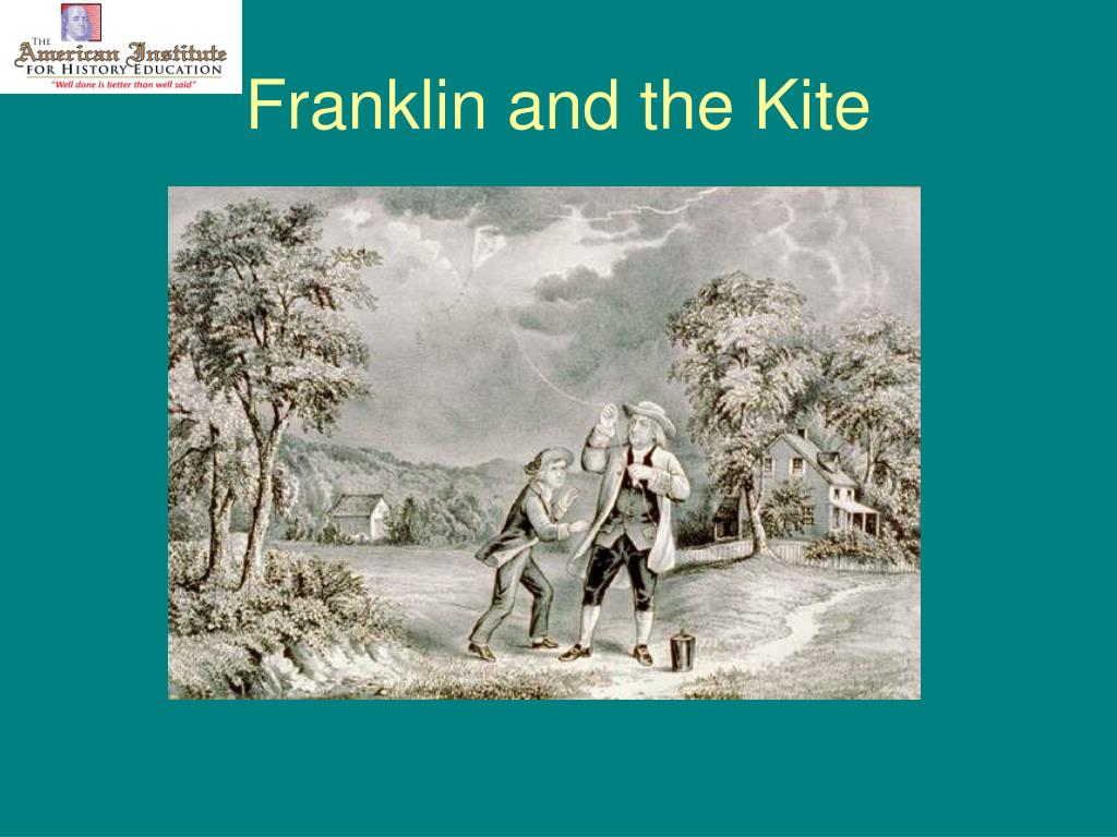 Franklin and the Kite
