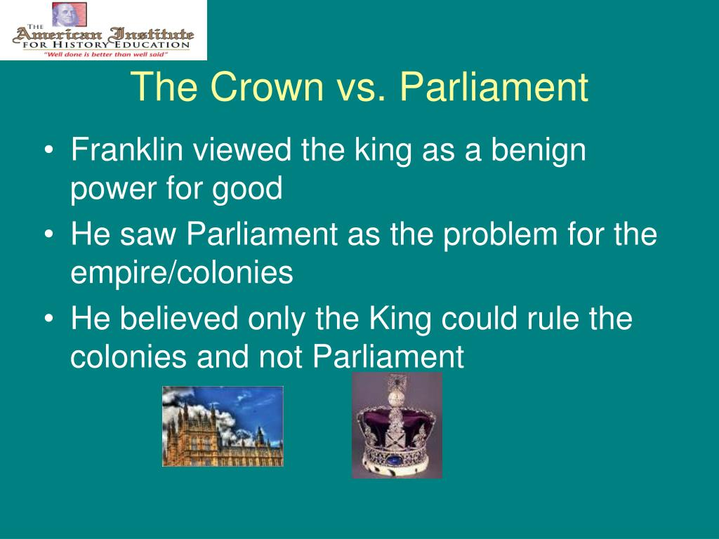 The Crown vs. Parliament