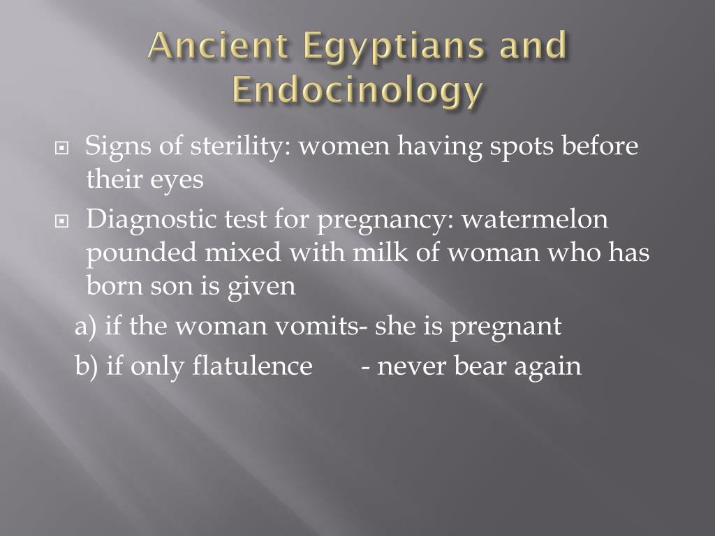 Ancient Egyptians and