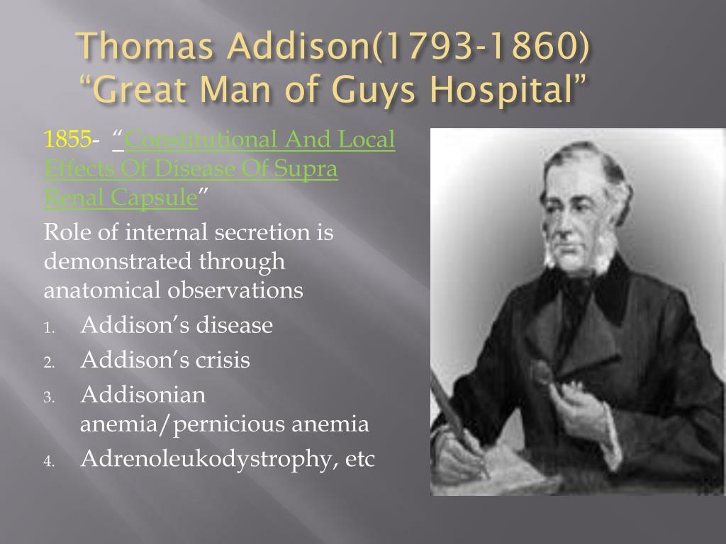Thomas Addison(1793-1860)