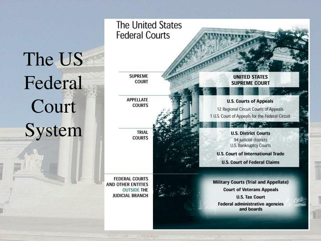 The US Federal Court System