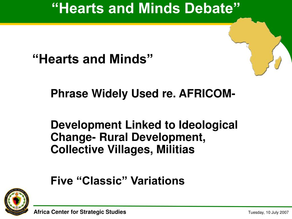 """Hearts and Minds Debate"""