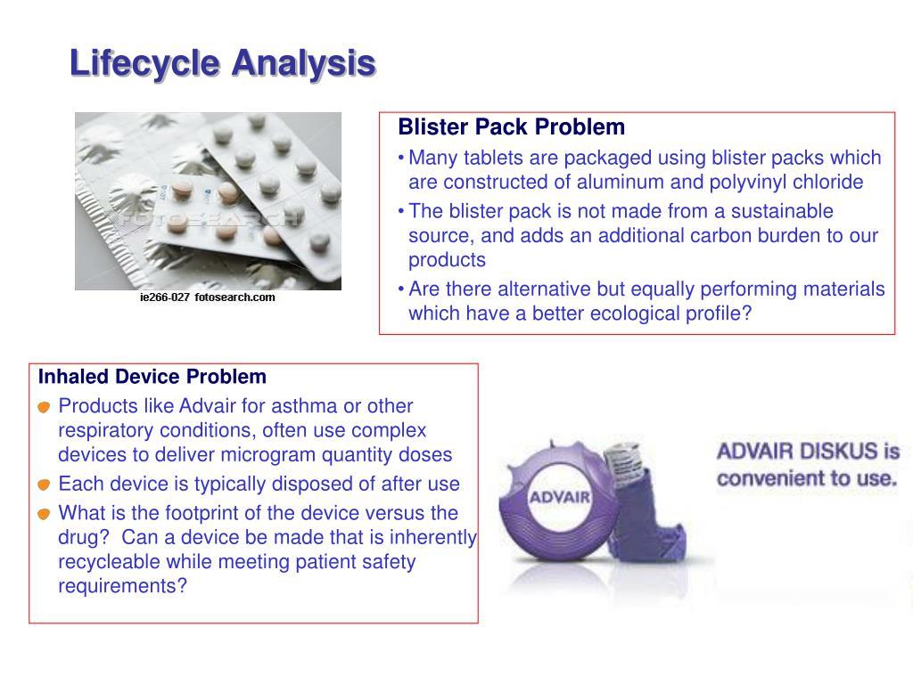Lifecycle Analysis