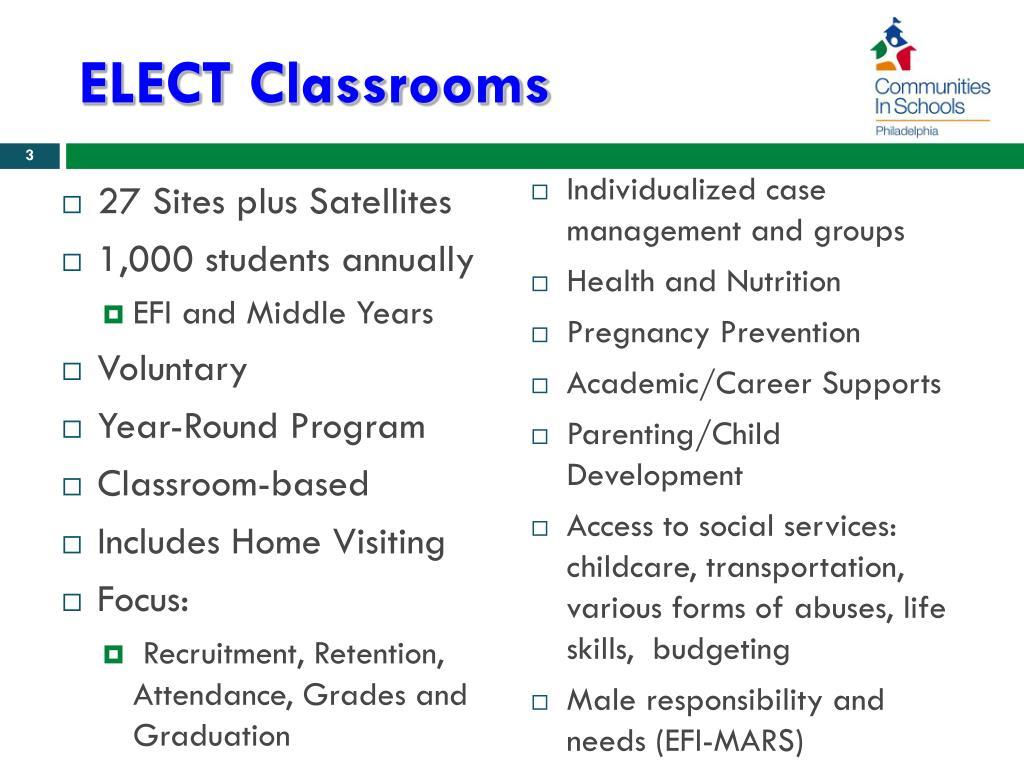 ELECT Classrooms