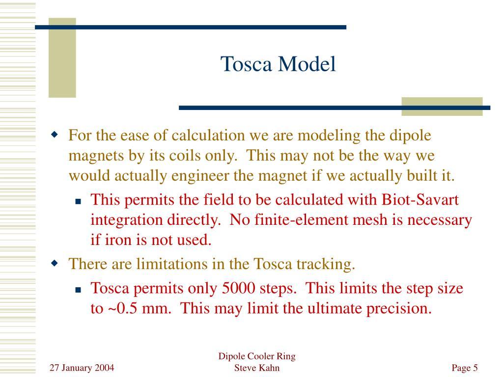 Tosca Model