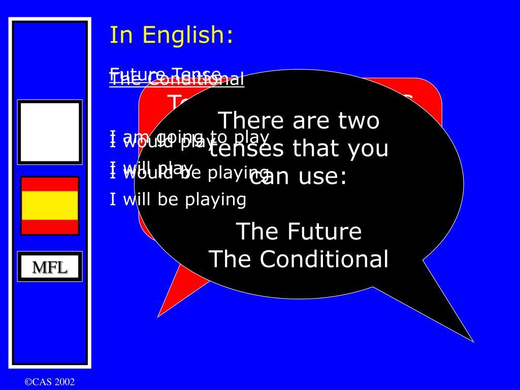In English: