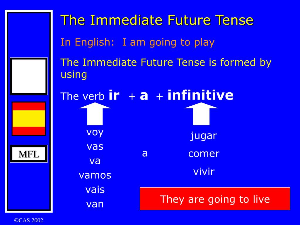 The Immediate Future Tense