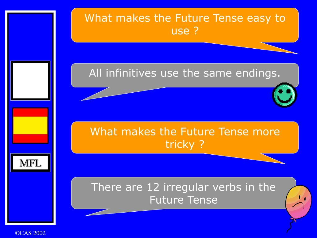What makes the Future Tense easy to use ?