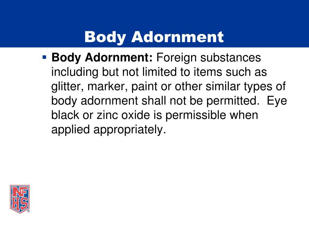 Body Adornment