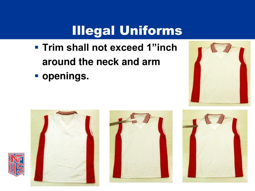 Illegal Uniforms