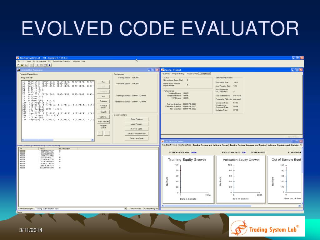 EVOLVED CODE EVALUATOR