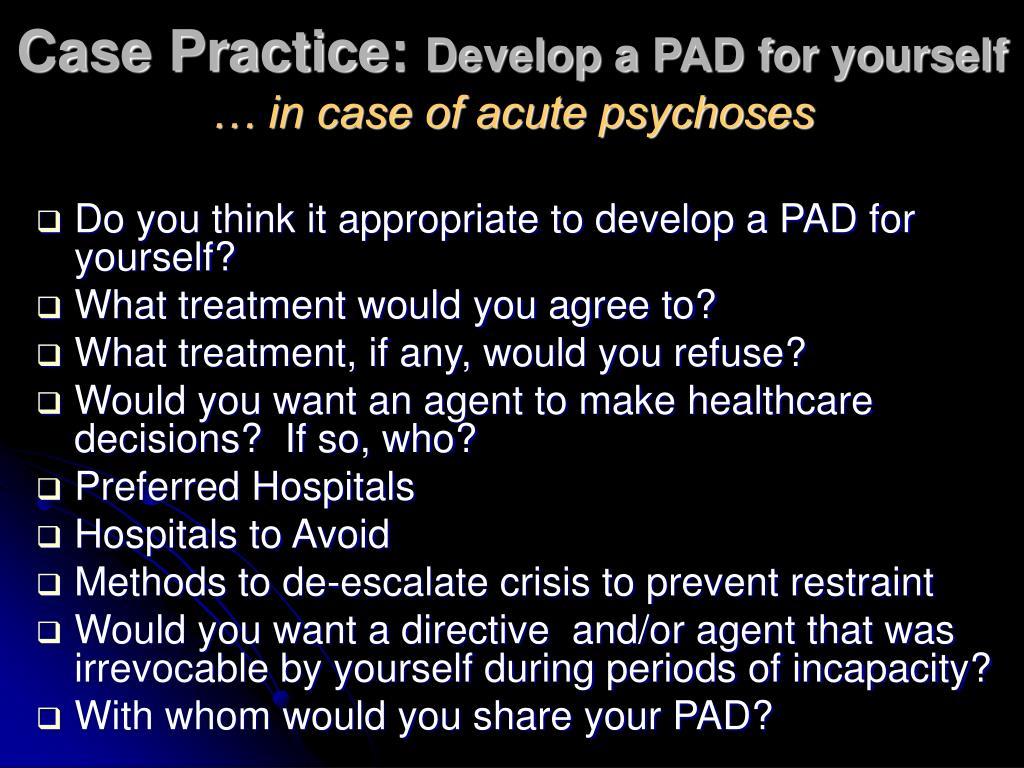 Case Practice: