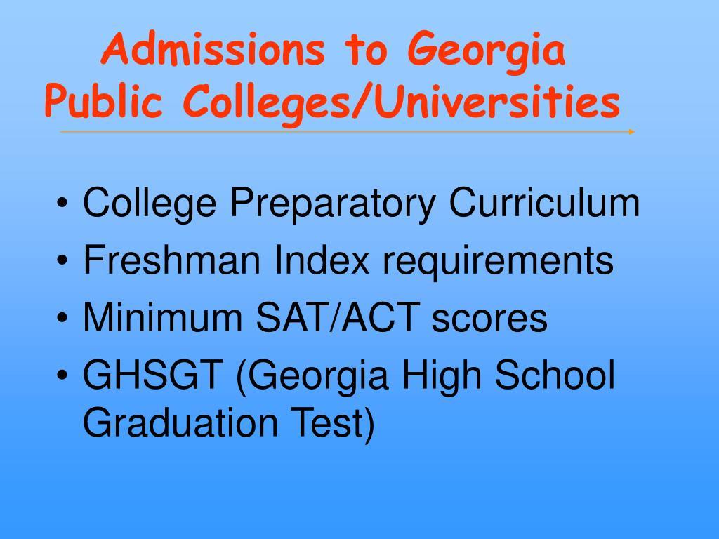 georgia southern application essay