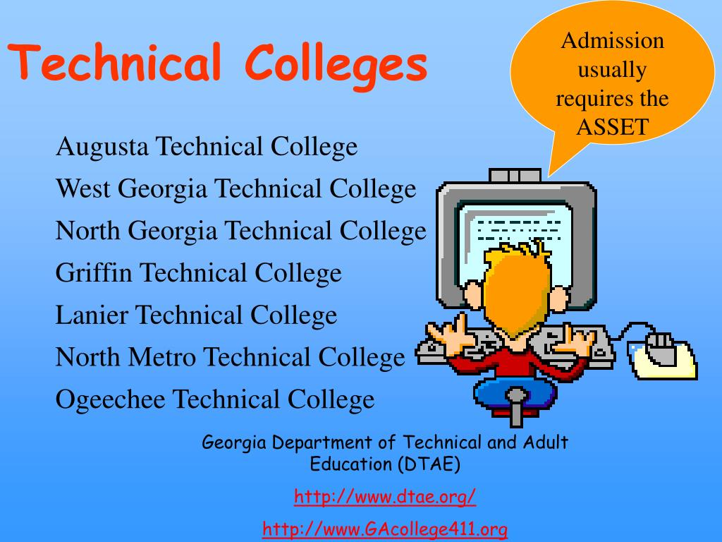 Georgia dept of technical and adult education