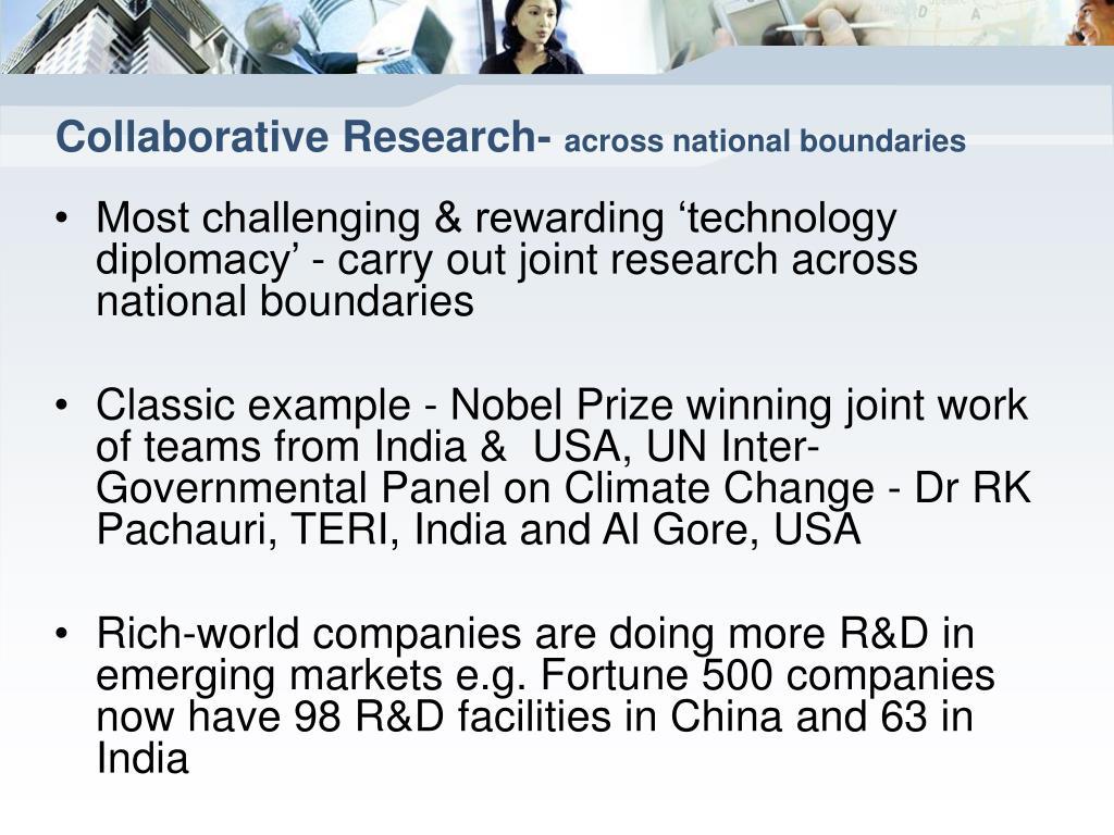 Collaborative Research-