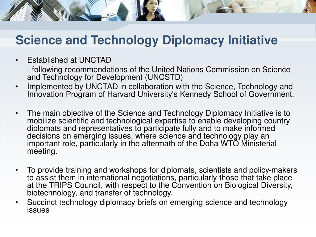 Science and Technology Diplomacy Initiative