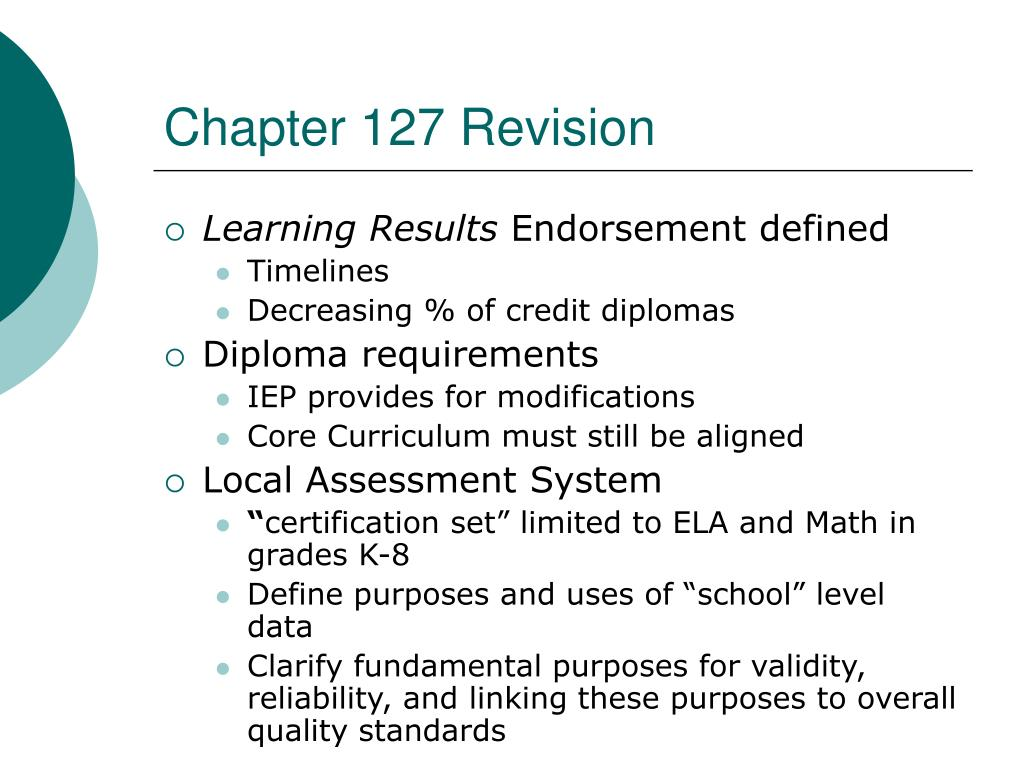 Chapter 127 Revision