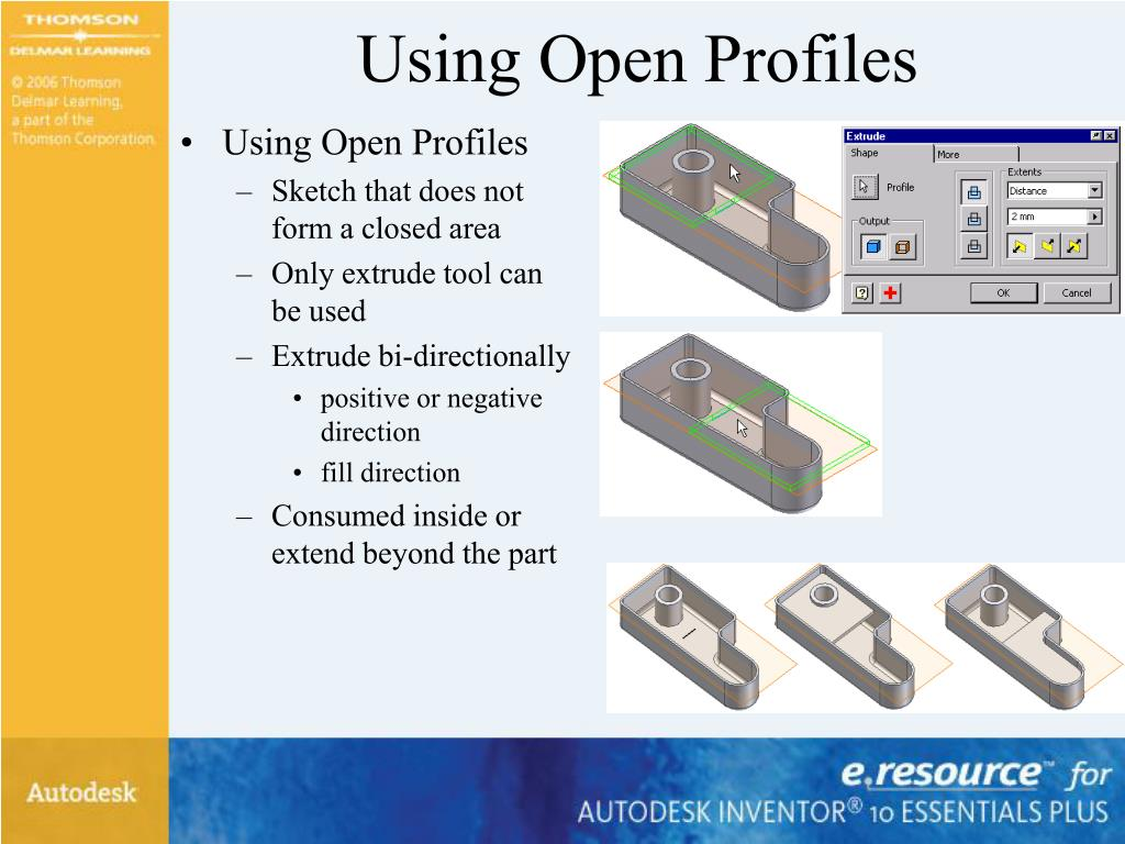 Using Open Profiles