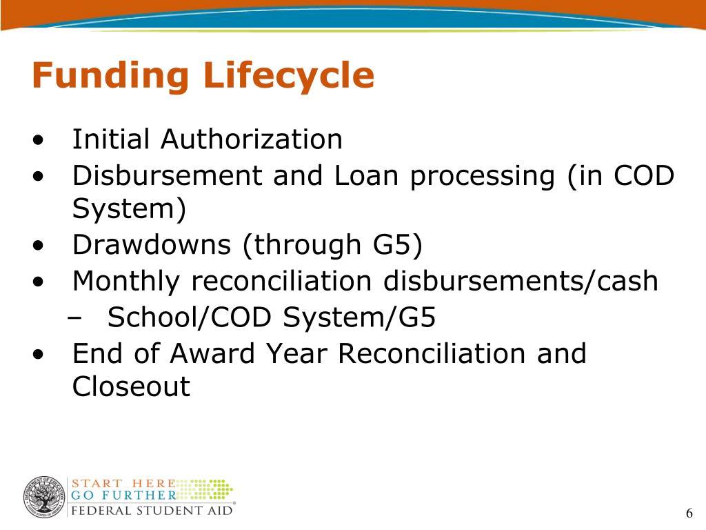 Funding Lifecycle