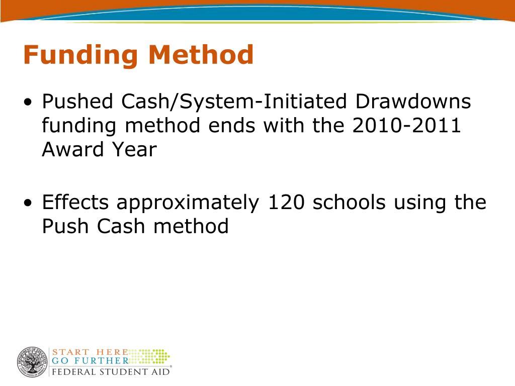 Funding Method