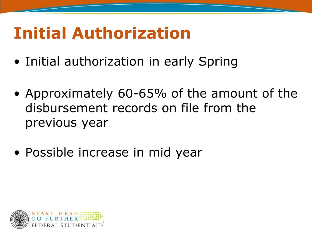 Initial Authorization