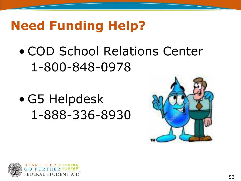 COD School Relations Center