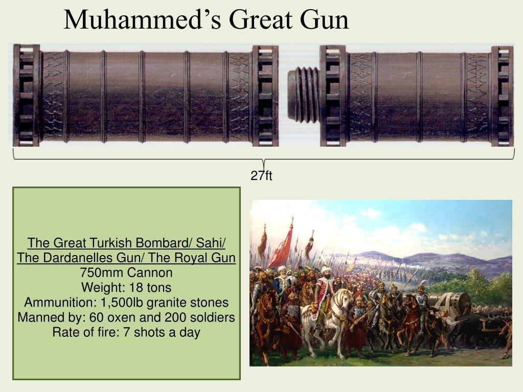 Muhammed's Great Gun