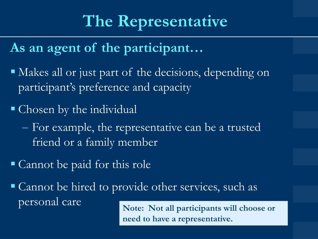 The Representative
