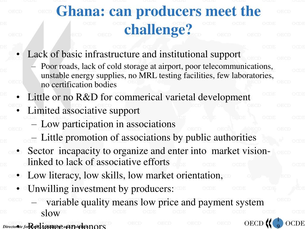 Ghana: can producers meet the challenge?