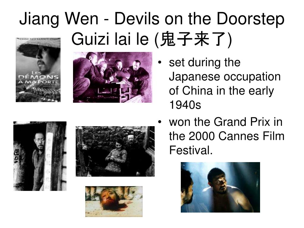 set during the Japanese occupation of China in the early 1940s