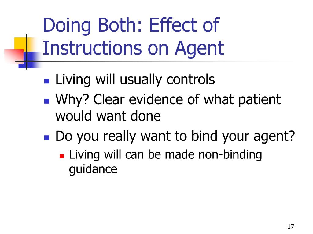 Doing Both: Effect of Instructions on Agent