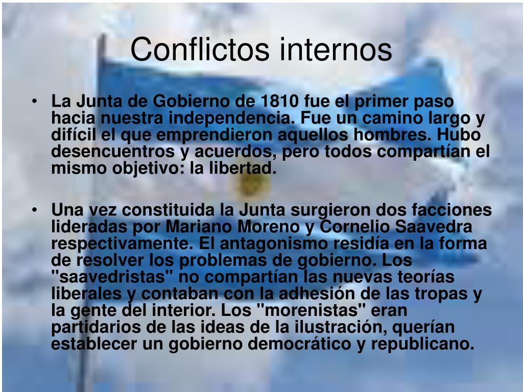 Conflictos internos