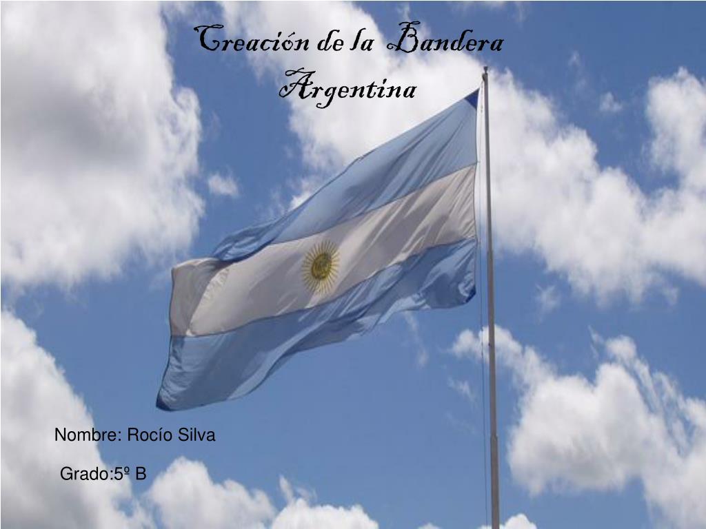Creación de la  Bandera