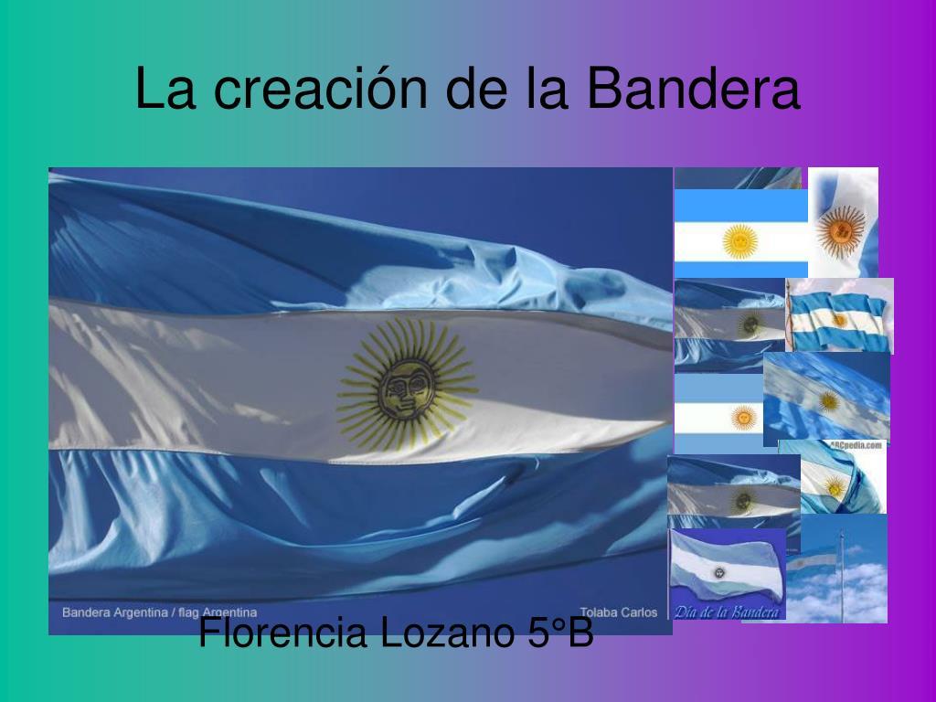 La creación de la Bandera