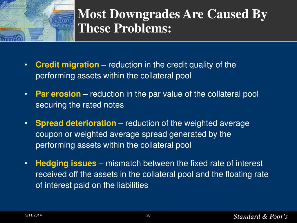 Most Downgrades Are Caused By These Problems:
