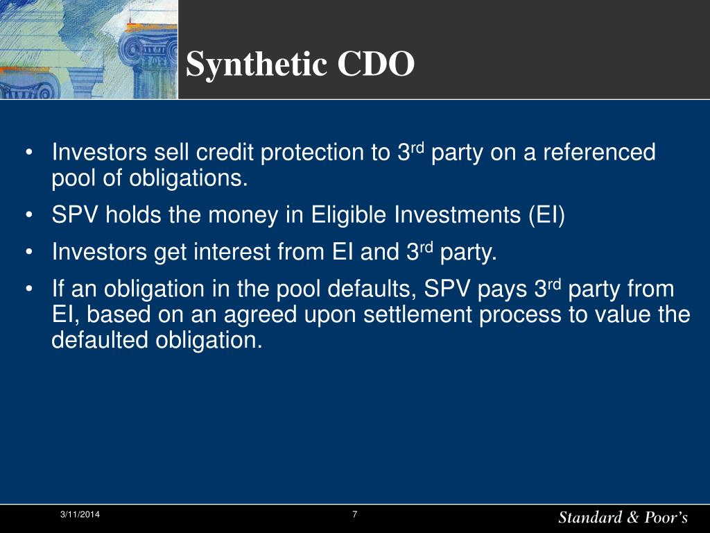 Synthetic CDO
