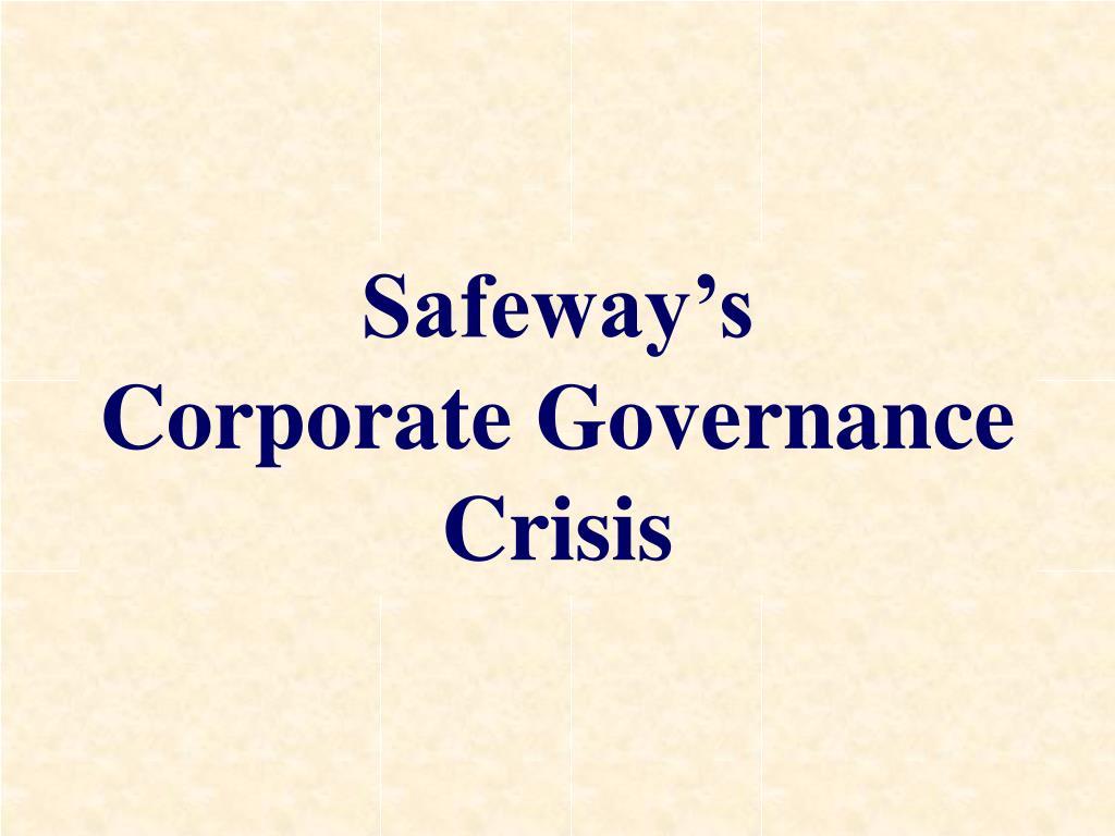 Safeway's