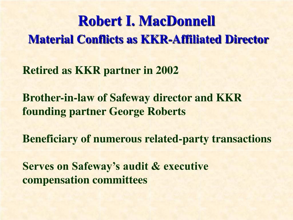 Robert I. MacDonnell