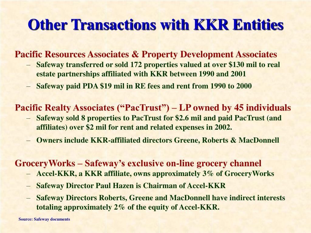 Pacific Resources Associates & Property Development Associates