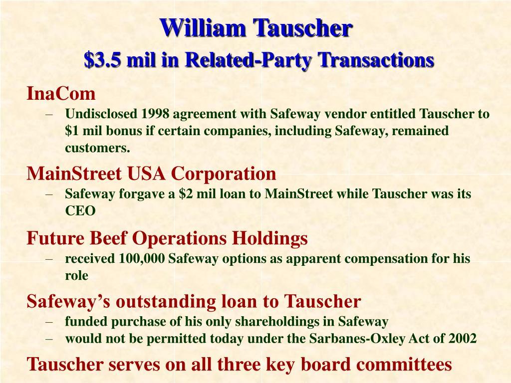 William Tauscher