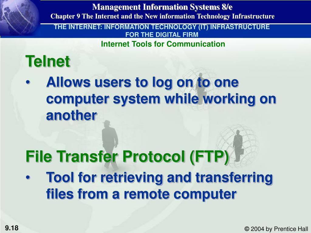 THE INTERNET: INFORMATION TECHNOLOGY (IT) INFRASTRUCTURE