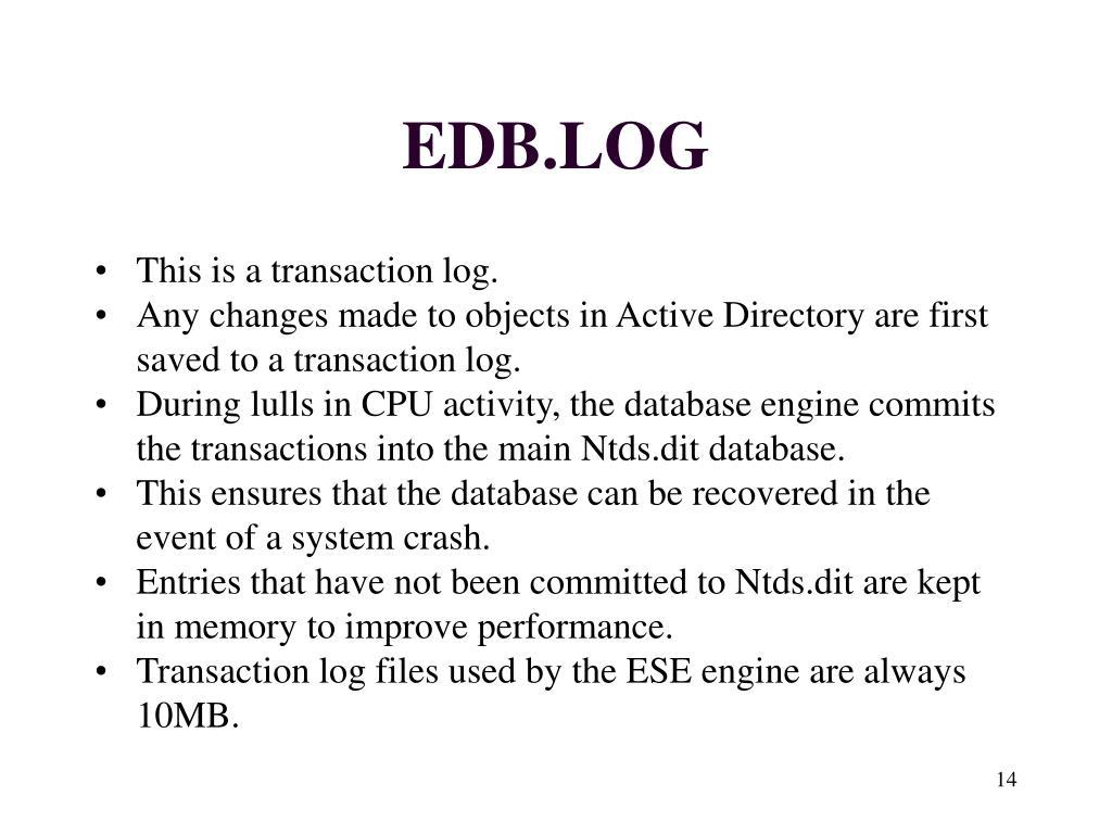 EDB.LOG